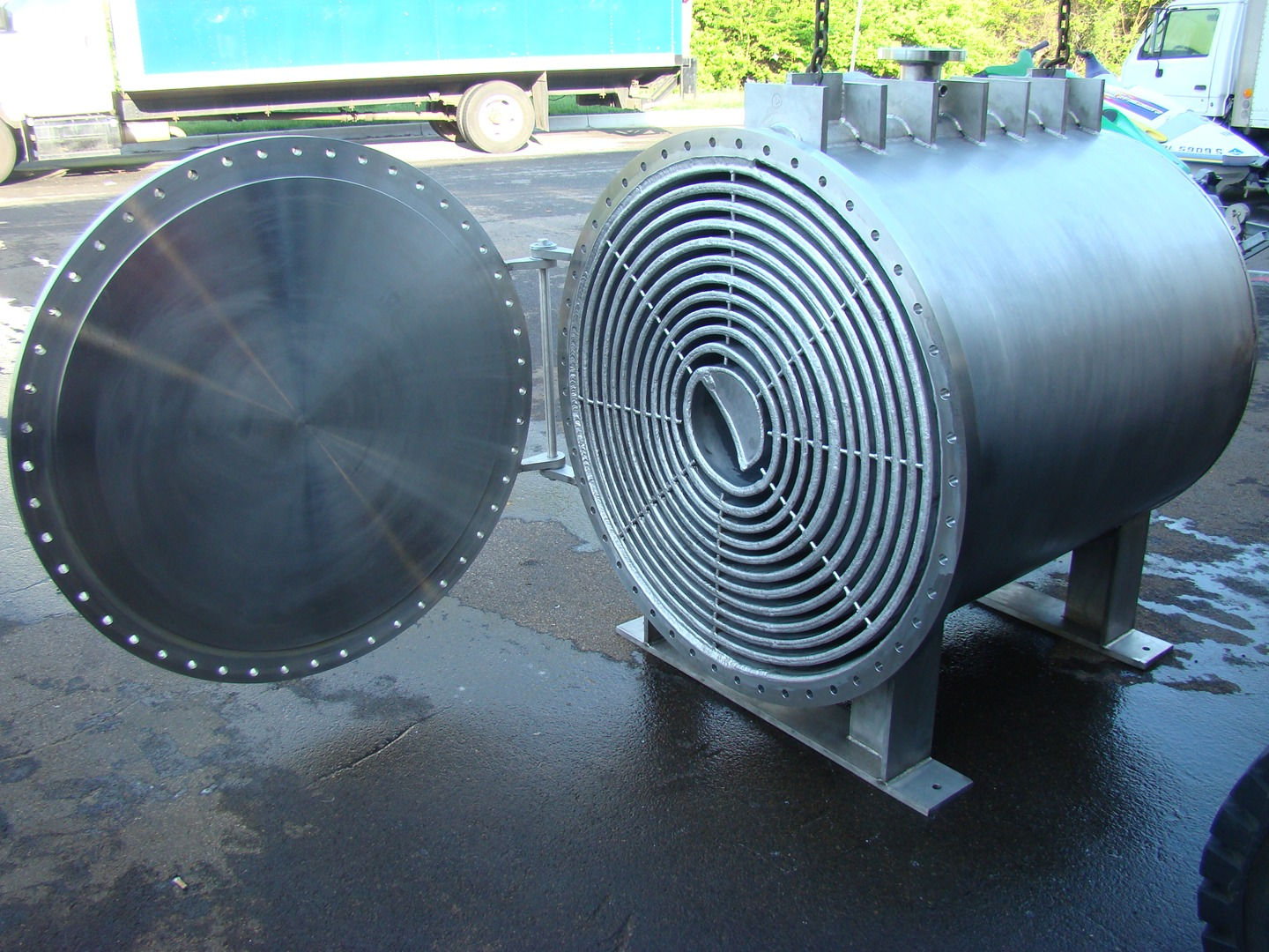 Elanco Spiral Heat Exchanger Pic4