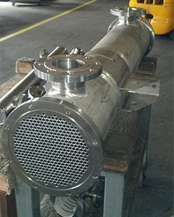 Enerquip Custom Sanitary Heat Exchanger