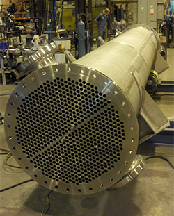 Large Custom Enerquip Sanitary Heat Exchanger