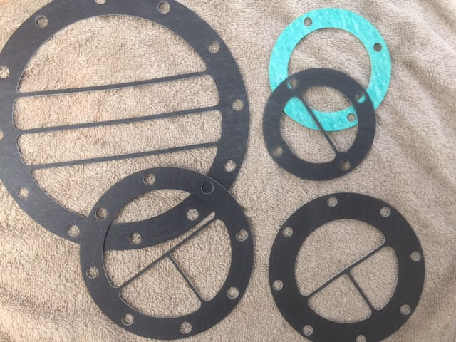 Compressed Fiber Gasket