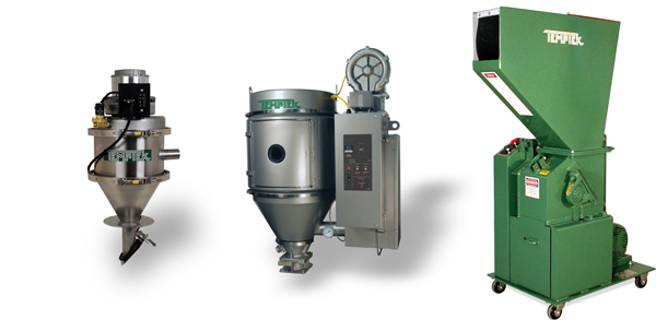 Temptek Granulators, Desicent Dryers, Vacuum Loaders